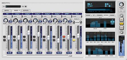 MOTU CueMix FX DSP mixer