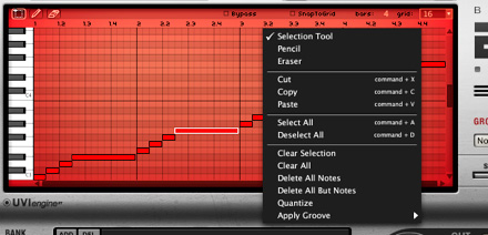 MOTU com - Loops and instruments