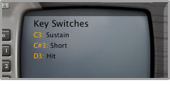 Keyswitch presets