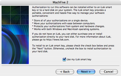 MOTU com - How do I install my MachFive 2 upgrade authorization onto