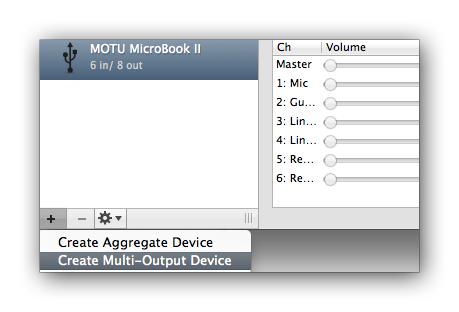 MOTU com - Using the MicroBook II's Phones output with